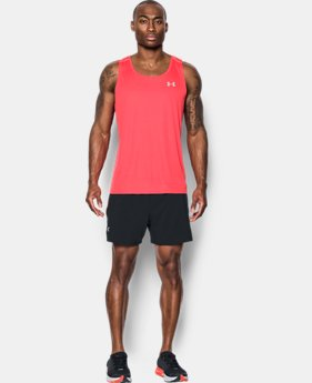 Men's UA CoolSwitch Run Singlet  1 Color $44.99