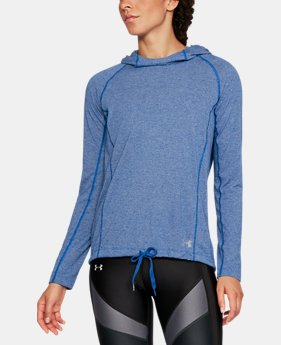 Womens blue outlet under armour us womens ua threadborne train twist hoodie 1 color available 2999 gumiabroncs Gallery