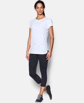 New Arrival Women's UA Favorite Mesh T-Shirt  1 Color $34.99