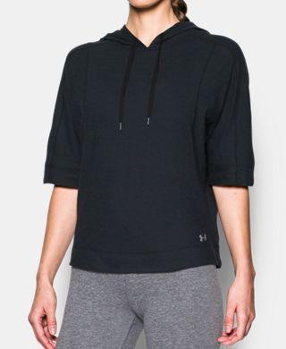 女子UA Fashlete Oversized連帽上衣