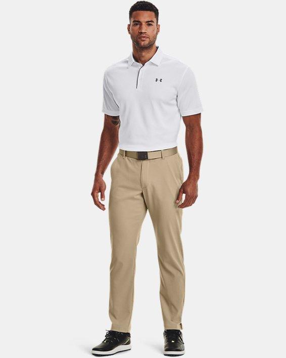 Polo UA Tech pour homme, White, pdpMainDesktop image number 3