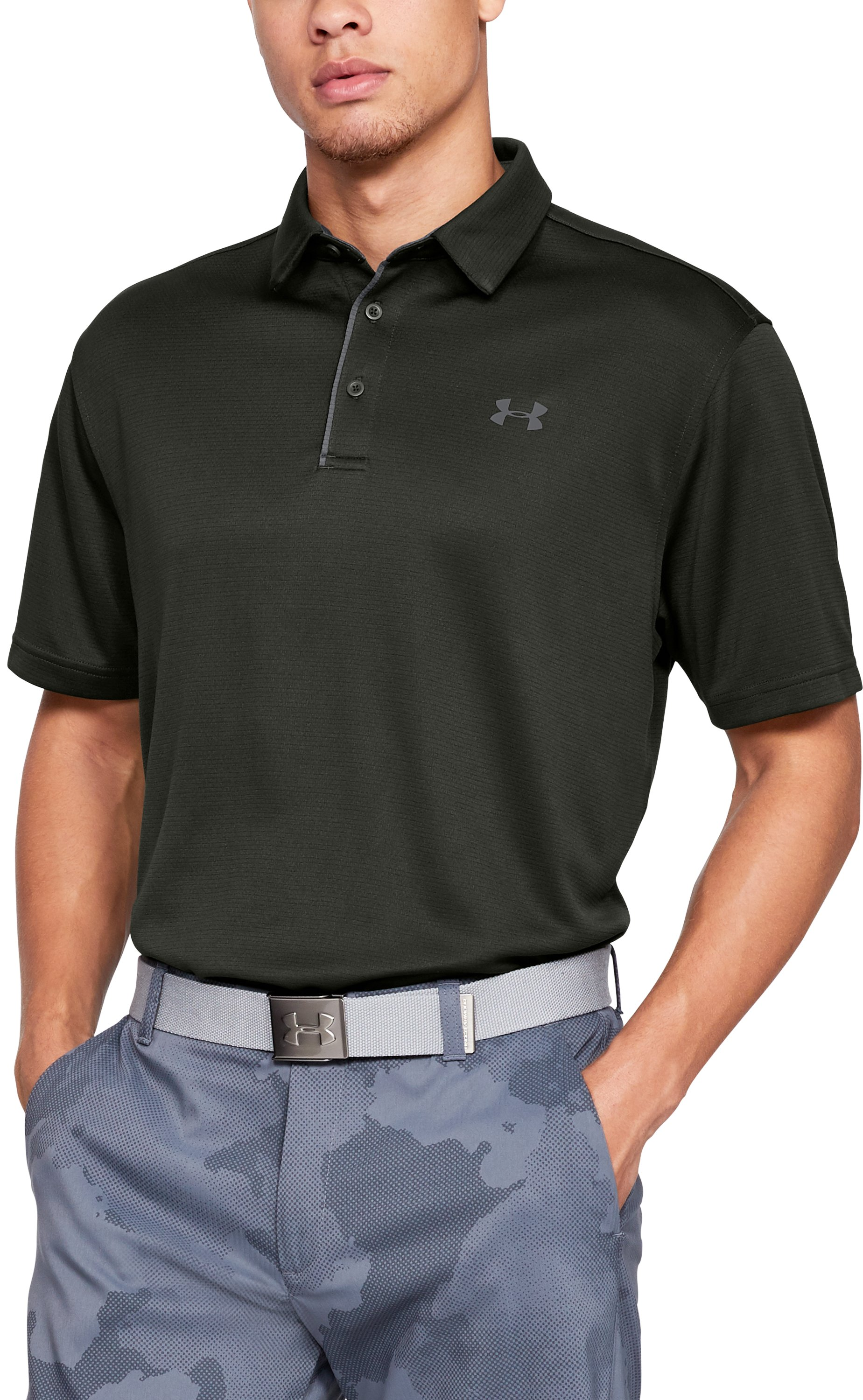Men's UA Tech Polo, Artillery Green