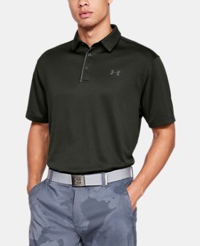 Best Seller Men's UA Tech Polo  4  Colors Available $39.99