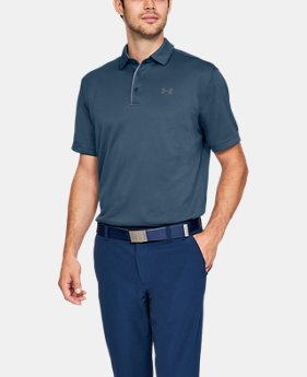 Best Seller Men's UA Tech Polo  5  Colors Available $39.99
