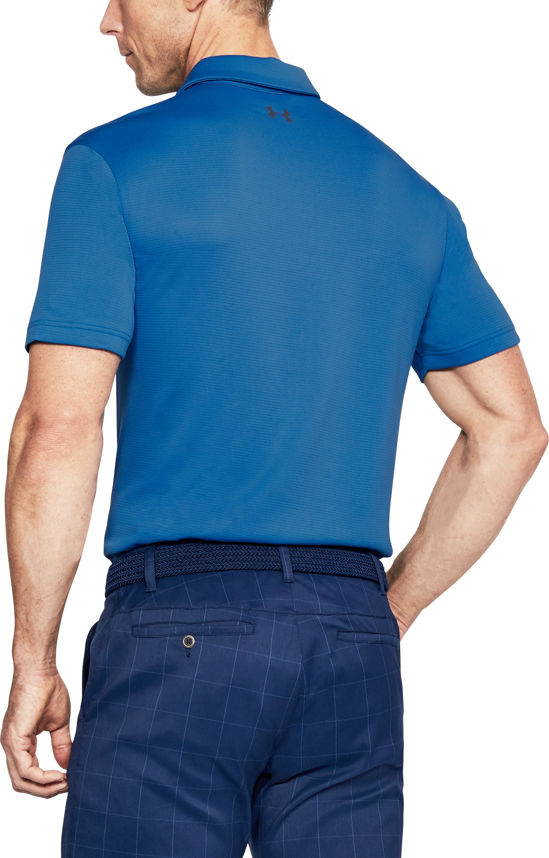Men's UA Tech Polo, Mediterranean,