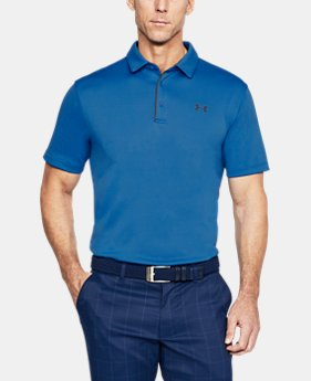 Men's UA Tech Polo FREE U.S. SHIPPING 9  Colors Available $39.99