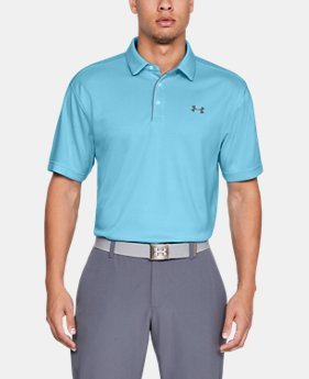 Best Seller Men's UA Tech Polo  9  Colors Available $39.99