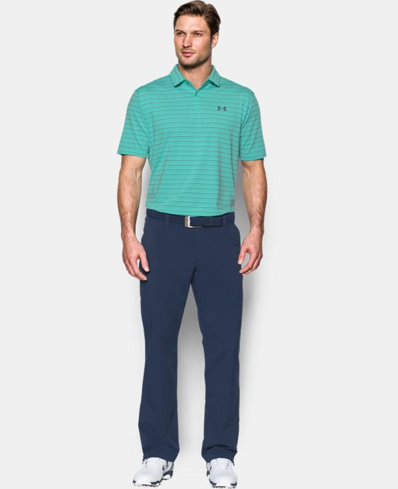 New Arrival  Men's UA CoolSwitch Putting Stripe Polo  2 Colors $84.99