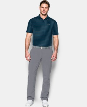Men's UA CoolSwitch Putting Stripe Polo  1 Color $41.99