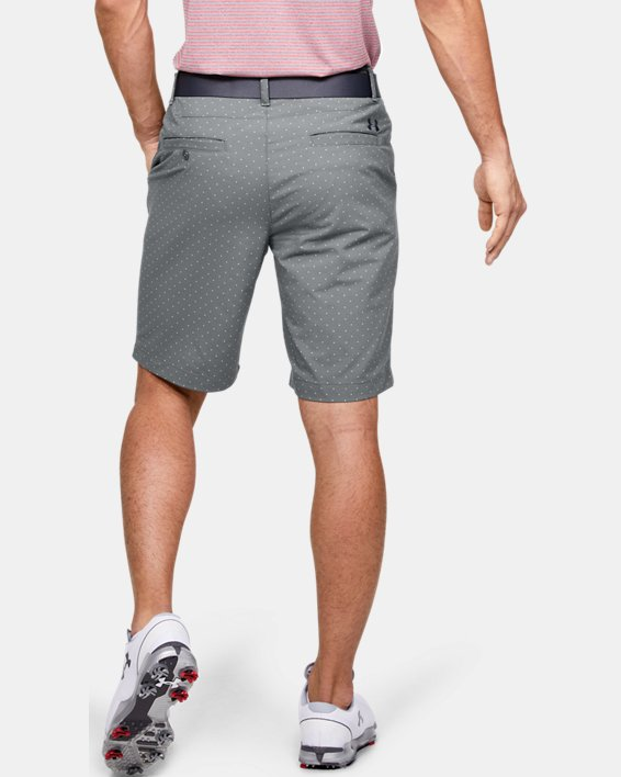 Men's UA Match Play Textured Shorts, Gray, pdpMainDesktop image number 2