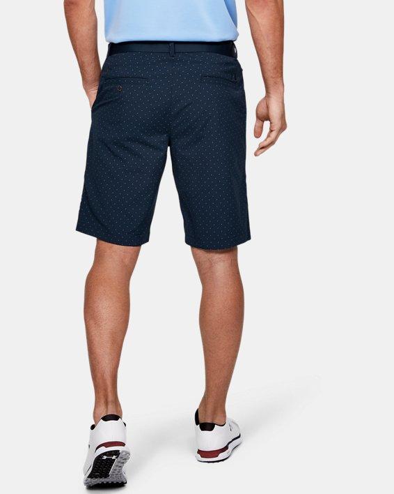 Men's UA Match Play Textured Shorts, Navy, pdpMainDesktop image number 2