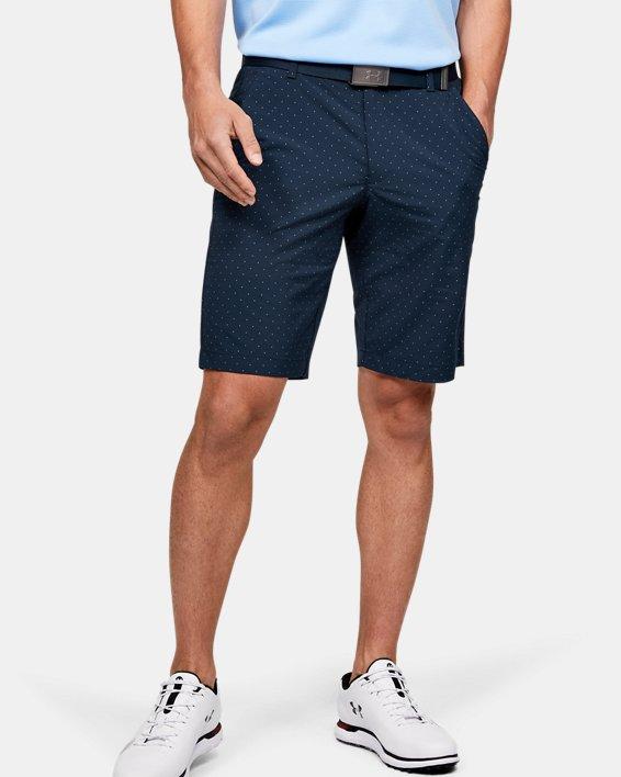 Men's UA Match Play Textured Shorts, Navy, pdpMainDesktop image number 0