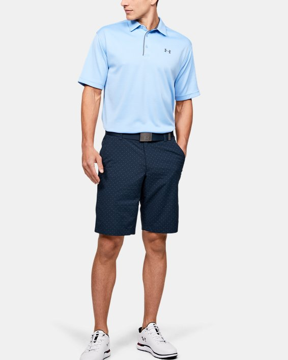 Men's UA Match Play Textured Shorts, Navy, pdpMainDesktop image number 1