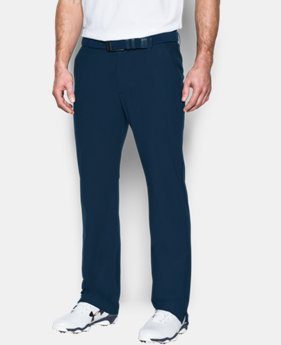 Best Seller Men's UA Threadborne Tour Pants  4 Colors $99.99