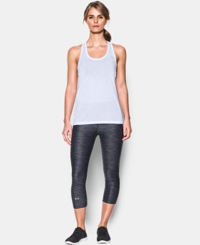 Women's UA Threadborne Train Tank  1  Color Available $17.99