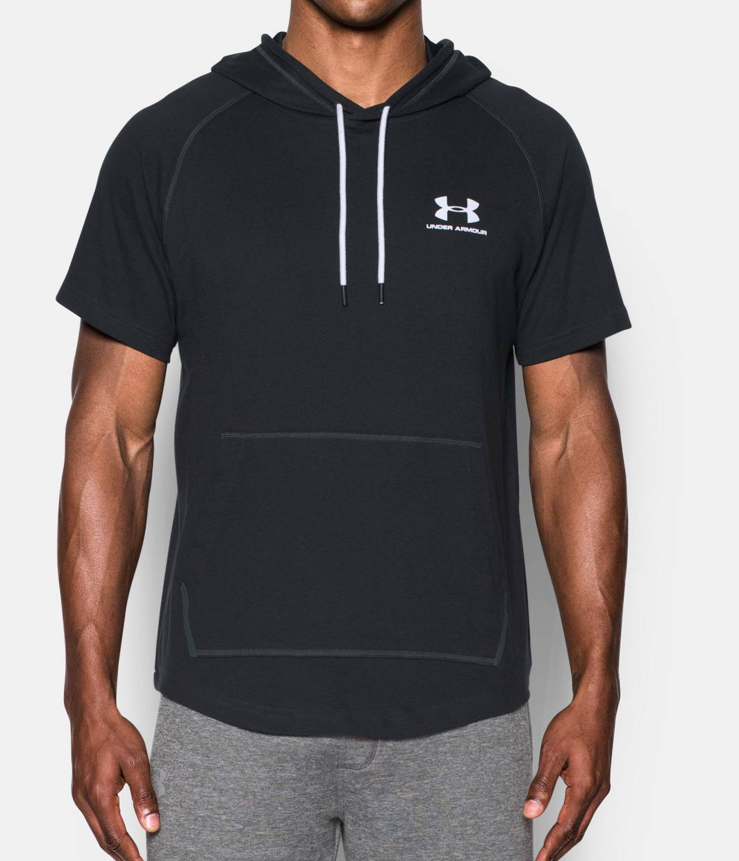 Men 39 S Ua Sportstyle Short Sleeve Hoodie Under Armour Us