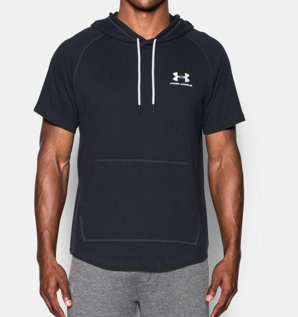 f8034a3c93300 Men s UA Sportstyle Short Sleeve Hoodie