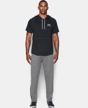 Best Seller Men's UA Sportstyle Short Sleeve Hoodie  1 Color $39.99