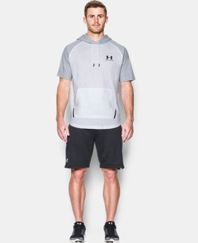 New Arrival Men's UA Sportstyle Short Sleeve Hoodie  1 Color $39.99