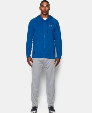 New Arrival Men's UA Sportstyle Fleece Full Zip Hoodie  2 Colors $64.99