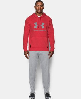 New Arrival Men's UA Sportstyle Fleece Hoodie  1 Color $59.99