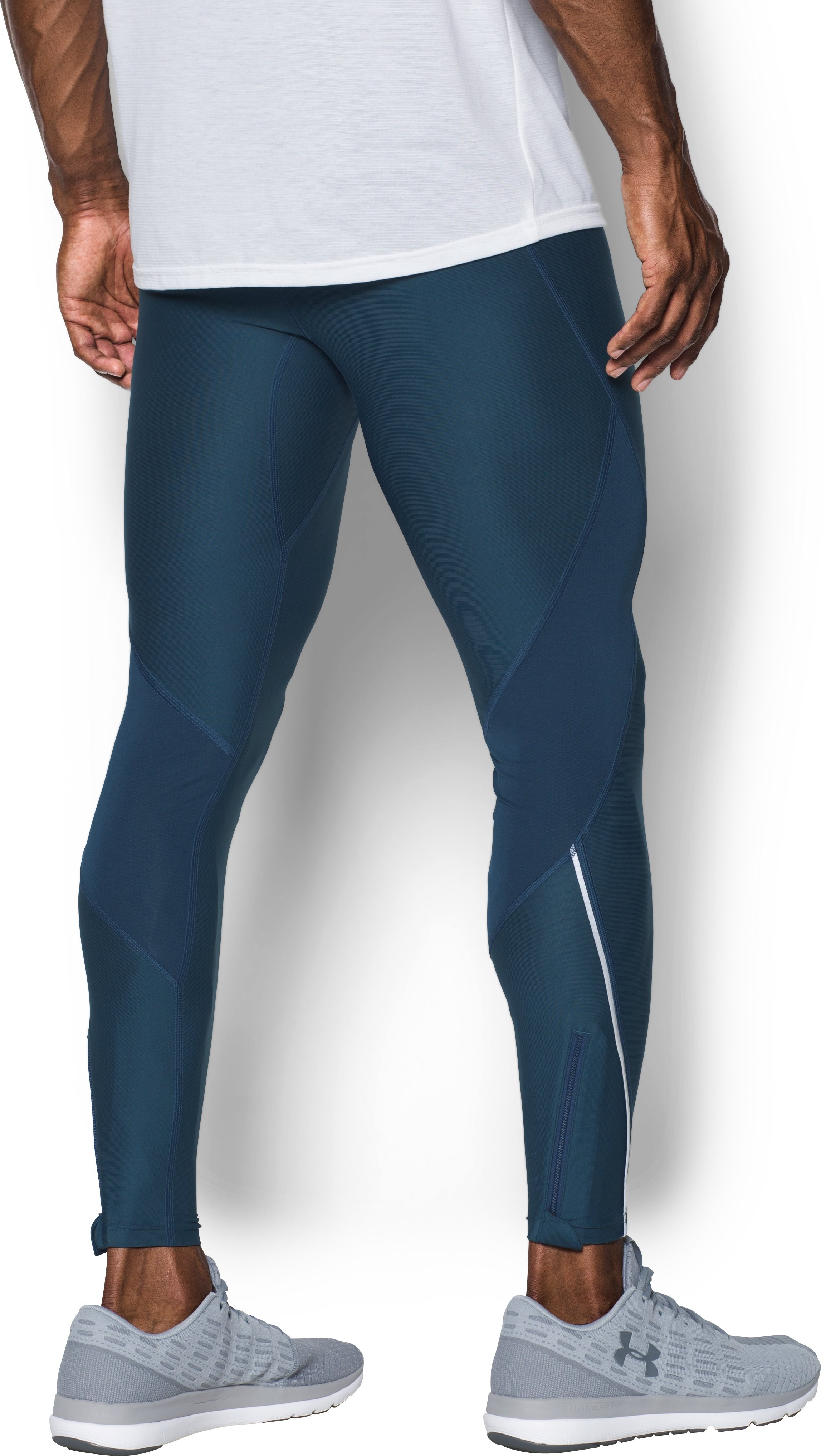 Men's UA CoolSwitch Run Tights, TRUE INK,