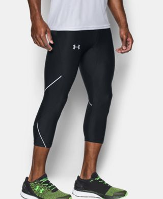 Men's UA No Breaks Run ¾ Leggings