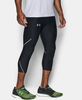 Men's UA Run True ¾ Leggings  1  Color Available $52.49
