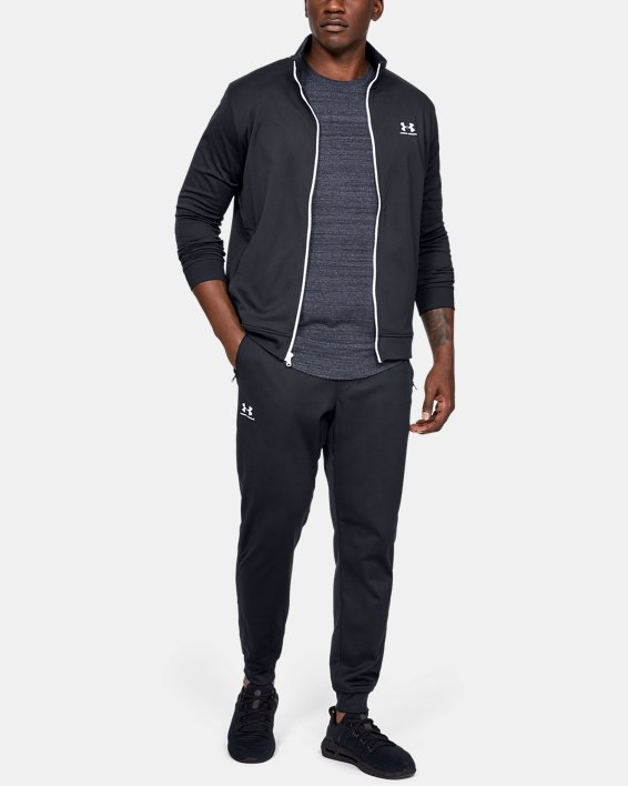 Men's UA Sportstyle Joggers, Black, pdpMainDesktop image number 3