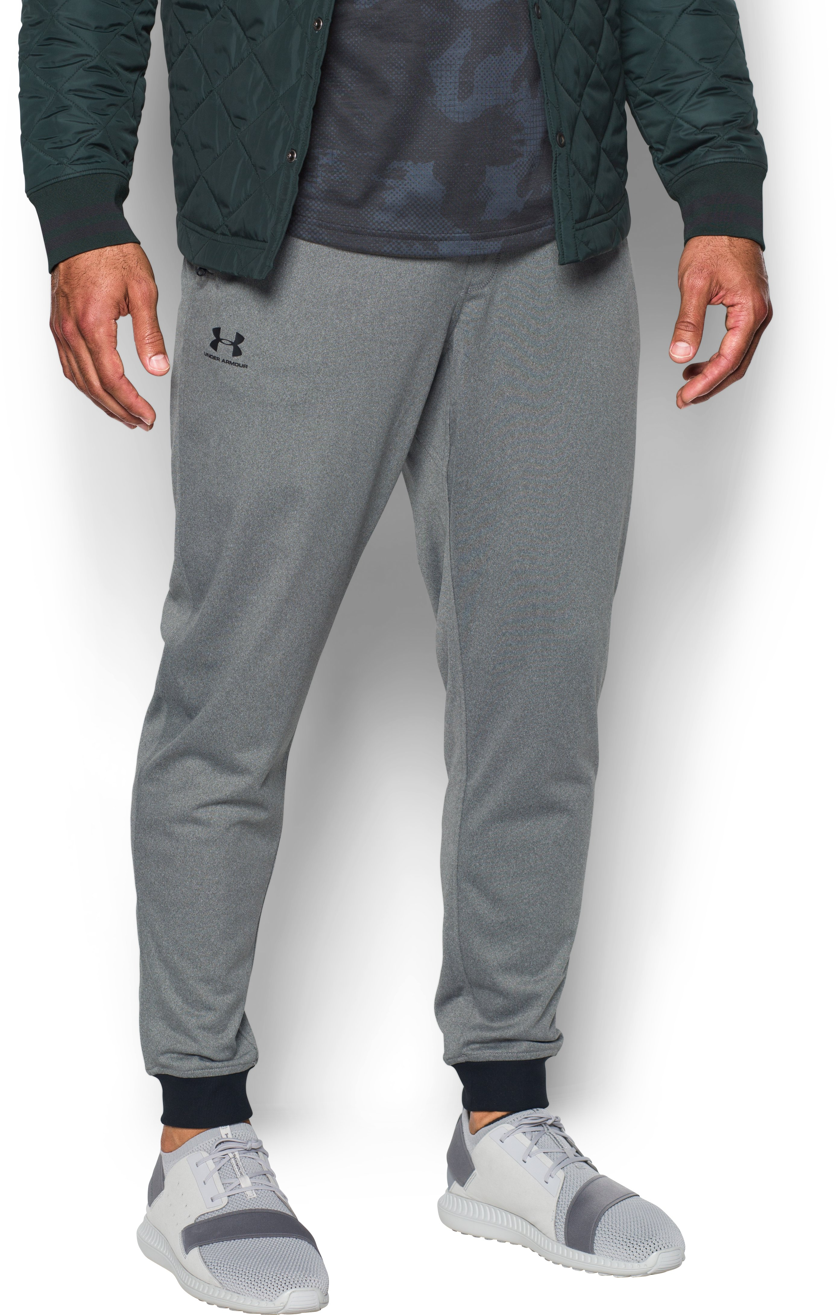 Men's UA Sportstyle Joggers, GREYHOUND HEATHER, undefined