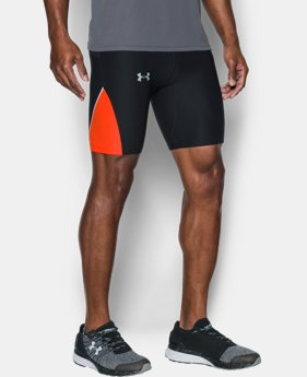 New Arrival Men's UA No Breaks Run Half Tight   $54.99