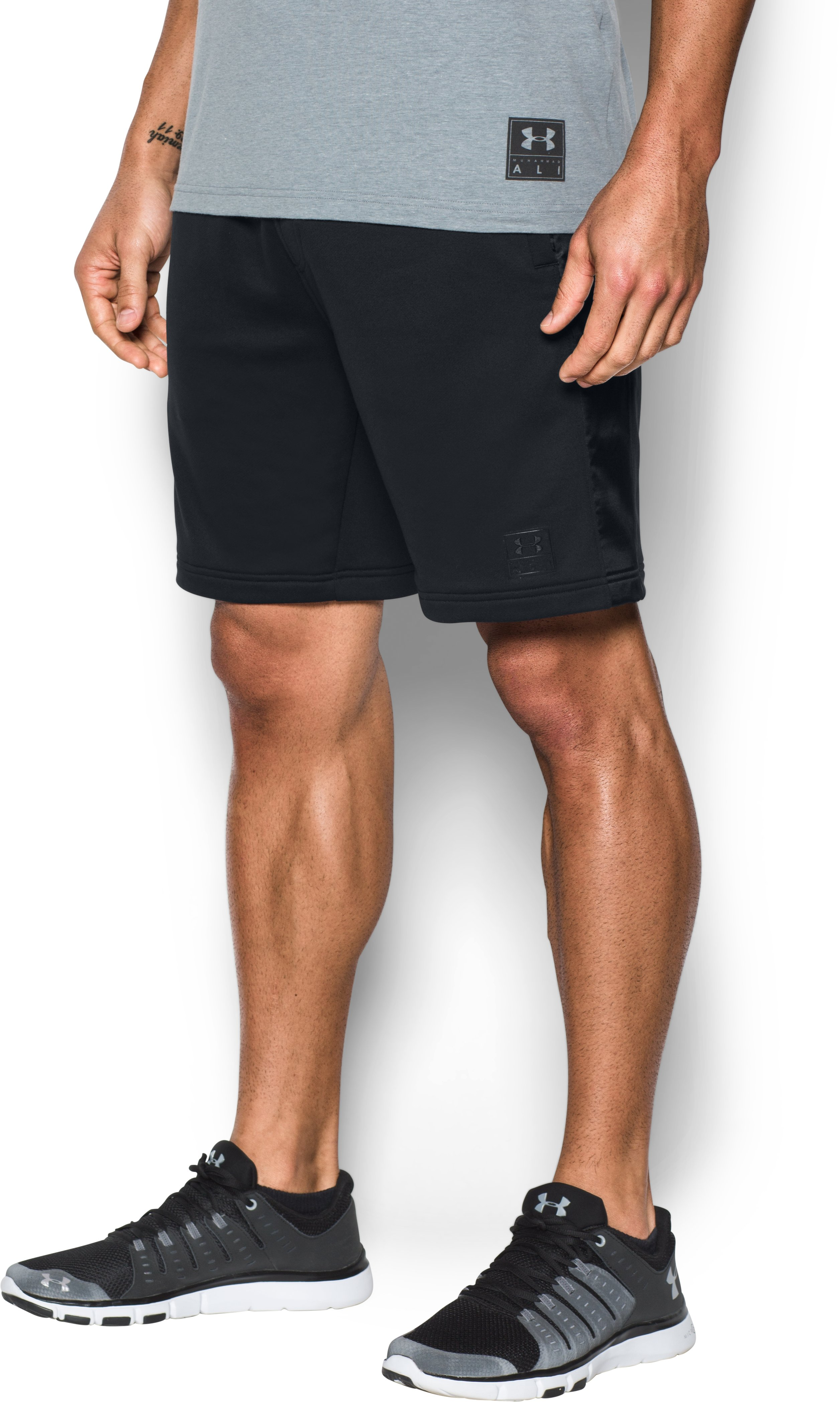 Men's UA x Ali Rope A Dope Shorts, Black