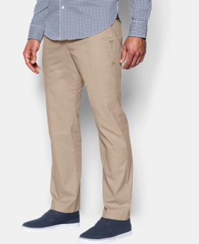 Men's UA Performance Lightweight Chinos  1 Color $62.99