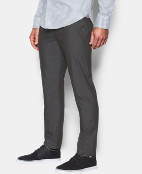 New Arrival Men's UA Performance Textured Chino – Tapered Leg  1 Color $79.99
