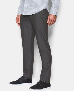 New Arrival Men's UA Performance Textured Chino – Tapered Leg   $89.99