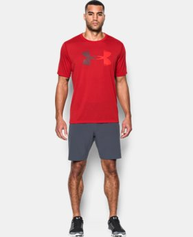 New Arrival Men's UA Threadborne Logo T-Shirt  1 Color $29.99