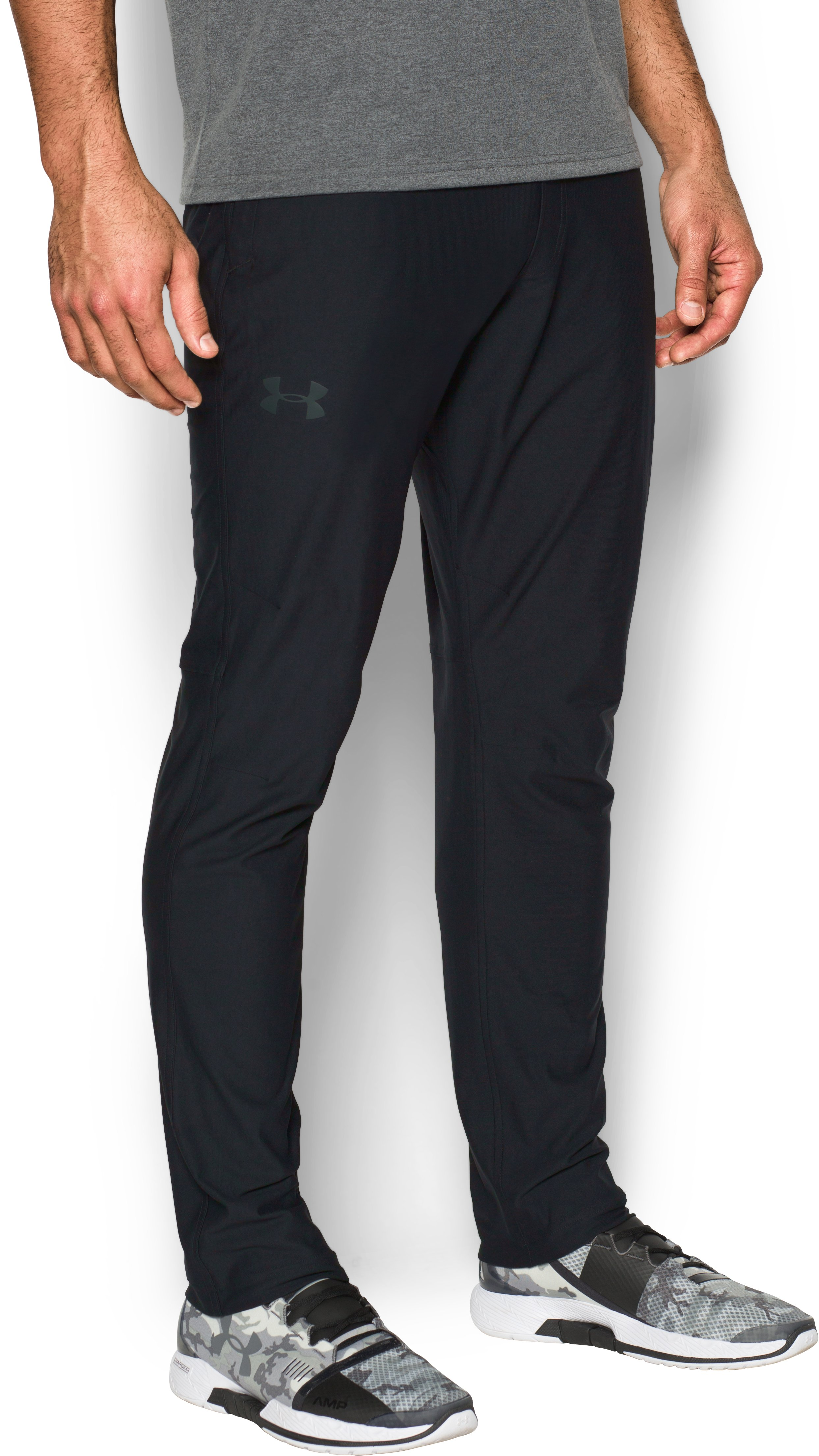 Men's UA Elevated Knit Pants, Black