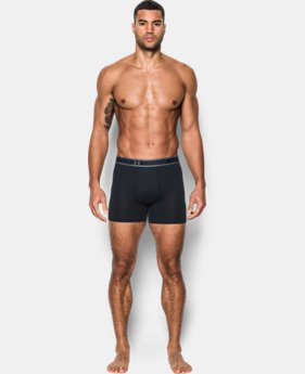 "Men's UA Iso-Chill Mesh 6"" Boxerjock® – 2-Pack  1 Color $45"
