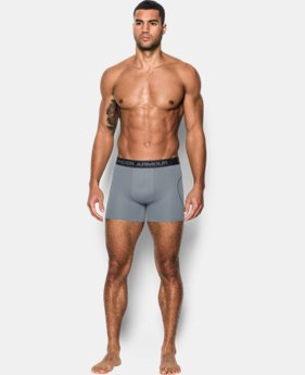 "New Arrival  Men's UA Iso-Chill Mesh 6"" Boxerjock® – 2-Pack  4 Colors $49.99"