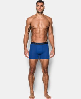 "Men's UA Iso-Chill Mesh 6"" Boxerjock® – 2-Pack  1 Color $33.75"