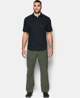 Men's UA Tactical Button-Down Short Sleeve  1 Color $74.99