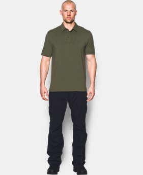 Best Seller Men's UA Tactical Charged Cotton® Polo  4 Colors $44.99