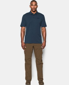 Men's UA Tactical Charged Cotton® Polo  1  Color Available $44.99