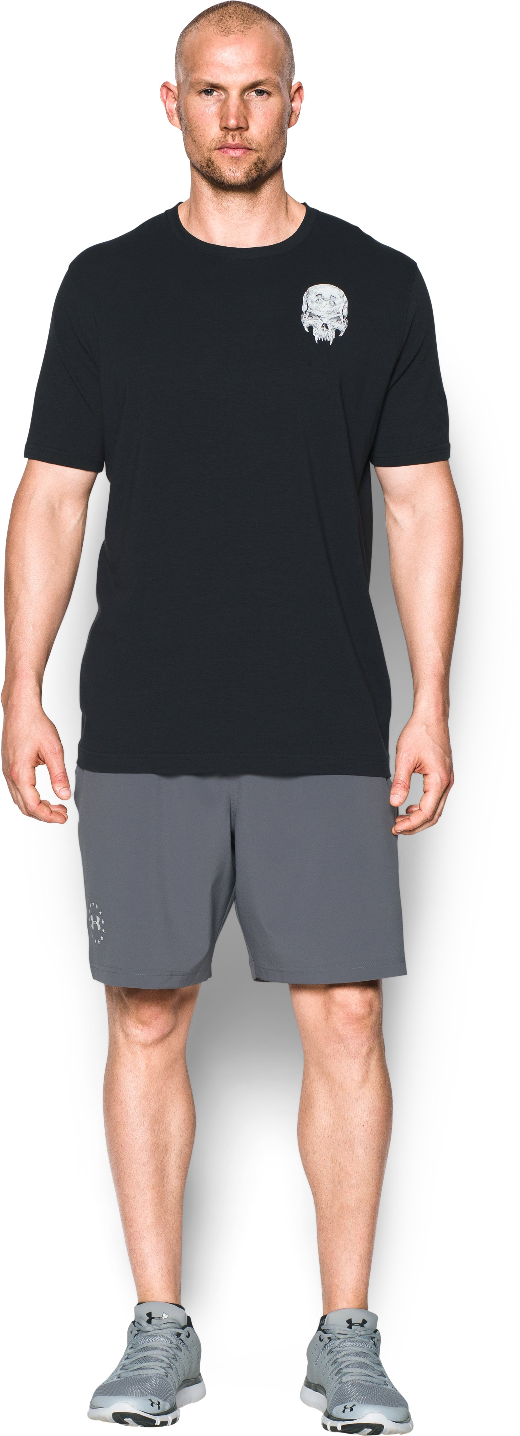 Men's UA Freedom Jack T-Shirt, Black , Front