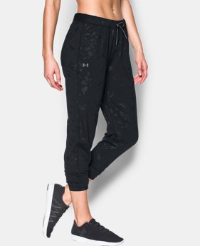 Women's UA City Hopper Shine Emboss Joggers  2 Colors $50.24 to $53.99