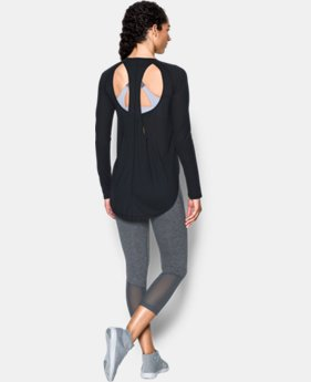 New Arrival Women's UA Breathe Open Back Long Sleeve   $54.99