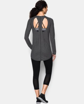 Women's UA Breathe Open Back Long Sleeve  1 Color $54.99
