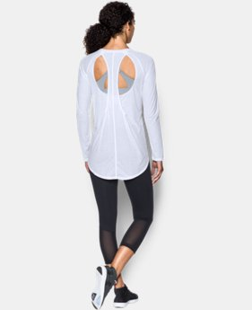 Women's UA Breathe Open Back Long Sleeve  1  Color Available $54.99