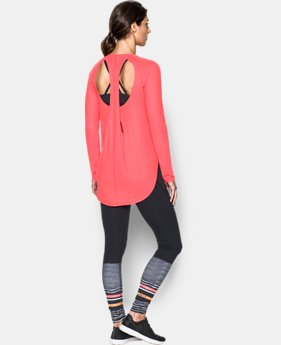 Women's UA Breathe Open Back Long Sleeve  1 Color $41.24