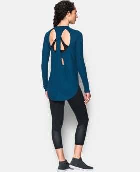 PRO PICK Women's UA Breathe Open Back Long Sleeve  1 Color $30.99 to $38.99